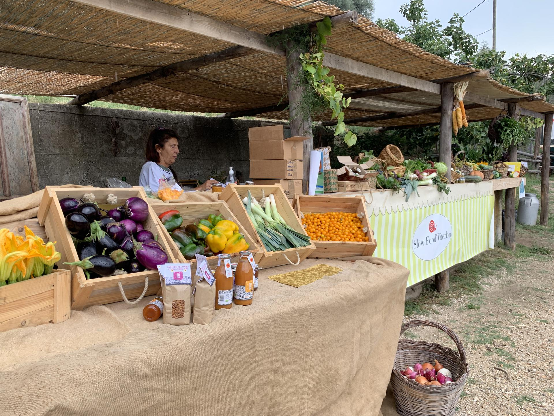 Al Mercato della Terra di Viterbo e Tuscia tante eccellenze gastronomiche locali